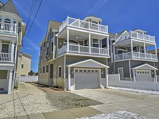 Inviting 4BR Sea Isle City House w/Wifi, Private Balcony & Serene Ocean Views