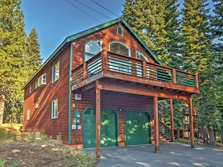 3BR Truckee House w/ Large Private Deck!