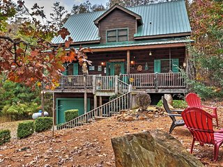 3BR Ellijay Cabin w/Resort Style Amenities
