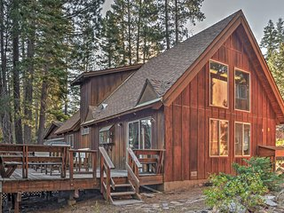 NEW! 3BR Truckee House Nestled Among the Pines!