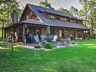 4BR Pequot Lakes Cabin w/Private Dock!