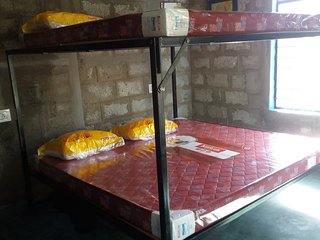 Each of the 4 bedrooms has a queen size bunk bed to sleep 4 comfortably