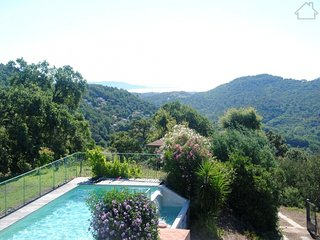 Matia 210982 villa with sea view, semi fenced pool 10 x 5 mtr, quiet location