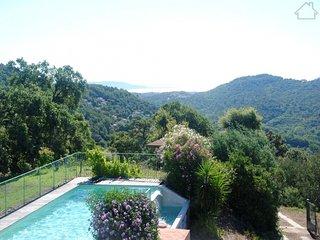 Matia 210982 villa with sea view, semi fenced pool 10 x 5 mtr, quiet location, Les Adrets-de-l'Esterel