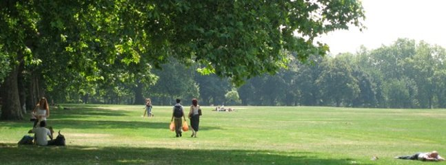 Take a stroll in nearby Regents Park -a contender for the most beautiful urban park in the world.