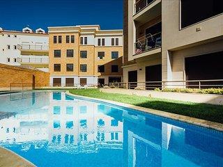 Apartamento de ferias para alugar | 1 Quartos | Grande Piscina Comum  | Sao Mart