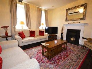 Drawing Room - a beautiful room with original Georgian flooring, beams and fireplace