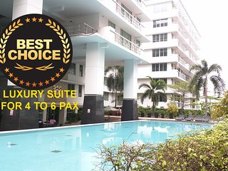 80sqm,Luxury 2BR/2Ba,Wifi,Cable TV,Pool, Sukhumvit near BTS On-Nut, Bangcoc