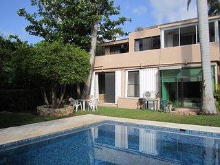 Apartamento en la Riviera Maya Caribe vacacional todo el ano