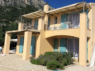 Villa Odyssey,Nissaki Corfu.Highly recommended property with Sea Views & pool