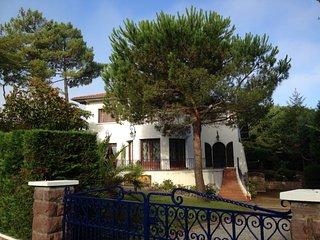 HOSSEGOR Duplex 3* 50m2 cossu, dans demeure, centre village, lac et golf à pieds