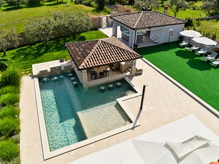 Pool-Bar Villa Istria / ~50m2 private pool / SPA Jacuzzi / Seaview, Vodnjan
