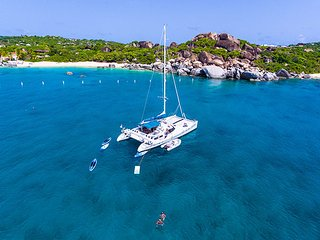 Charter Catamaran Quest! Why see one Island when you can see them all?
