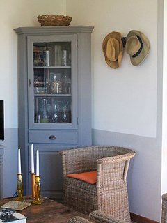 Wine cabinet living room
