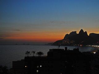 POSTCARD VIEW IPANEMA A1-001 A1-001, Río de Janeiro