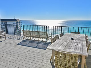 Penthouse With HUGE Roof Top Terrace, Panama City Beach