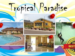 Tropical Paradise minutes from Ocho Rios (sleeps 8), Ocho Ríos
