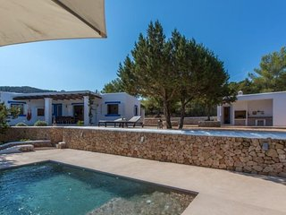 3 bedroom Villa in Cala Tarida, Balearic Islands, Spain : ref 5047368
