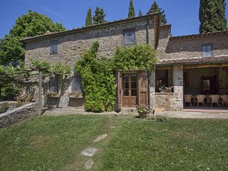 6 bedroom Apartment in Volpaia, Chianti, Tuscany, Italy : ref 2385760