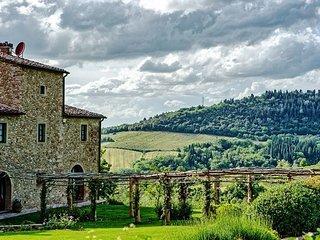 8 bedroom Villa in Petrognano, Chianti, Tuscany, Italy : ref 2385915