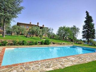 4 bedroom Villa in Monte San Savino, Central Tuscany, Tuscany, Italy : ref 2386518