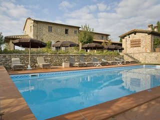 4 bedroom Apartment in La Fornace, Tuscany Nw, Tuscany, Italy : ref 2386844, Chianni