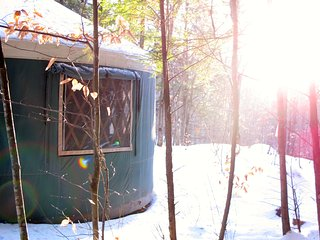 Mountain Brook Yurt Off-The-Grid Retreat, Denmark