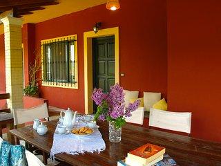 out side (veranda)