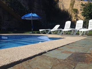 Casa con piscina a 1 Km de la playa