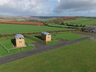 Salcombe Shepherd Huts, Malborough