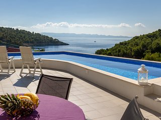 Amazing SeaView Villa with 3 bedrooms and private Pool