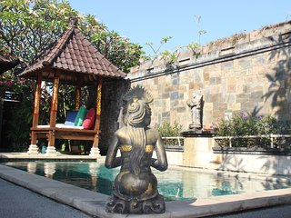 Sanur Oasis - only $75 in june - two bedrooms villa