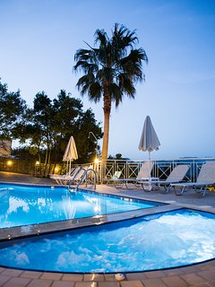 Another aspect of the pool at sunset!