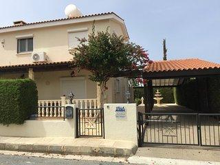 Villa 'Maria', 3 bd, Coral Bay, Paphos, Cyprus