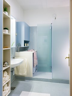 2nd Bathroom with shower, toilet, basin and washer/dryer