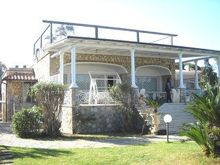 Spettacular Villa at 10 mt from the beach in san felice Circeo