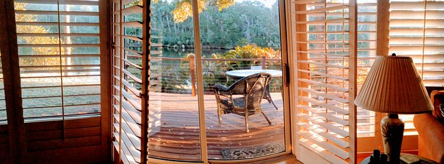 Lagoon View from the Living Room