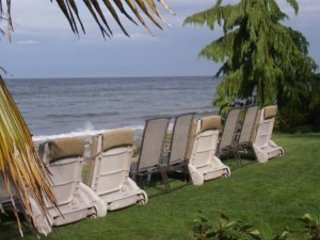 Relax on our furnished landscape.  Wild life viewing at its finest. eagles, seals, otters whales