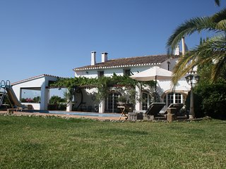 Romantic luxury old  farmhouse  with private pool and garden beach and golf near