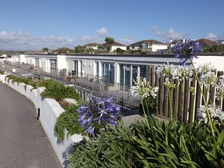 UNBEATABLE LOCATION :VOTED UK's BEST BEACH.  BEACH HOUSE. (Shared Swimming Pool)