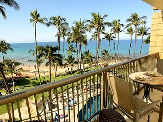 Oceanfront 1BD at the Mana Kai Maui Resort