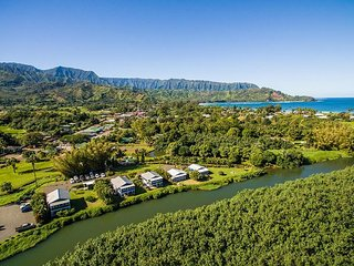 BE IN Hanalei & ON THE RIVER for a classic Kauai Experiance!