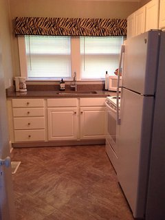 Brand new appliances and quartz countertops just installed!