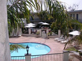 Two Bedroom Furnished Beach Vacation Rental steps to the Ocean, Carpinteria