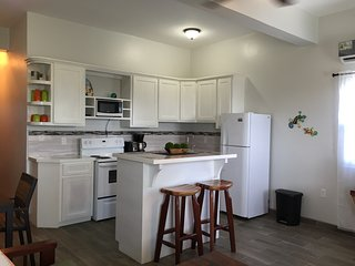 Spacious kitchen, fully equipped with all you need to cook a gourmet meal