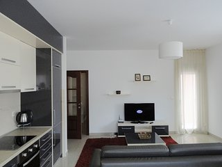 Spacious two bedroom apartment in the city centre, Budva