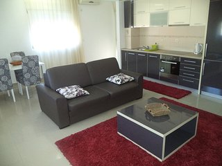 Deluxe two bedroom apartment in centre of Budva