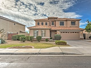 NEW! 5BR Mesa House w/Large Backyard & Pool Table!