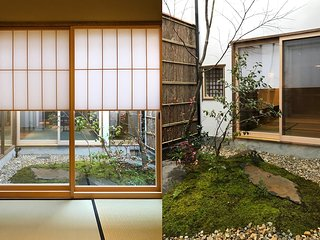 IN VIBRANT GEISHA DISTRICT, NEAR GION, LICENSED LUXURY TRAD. JAPANESE HOUSE