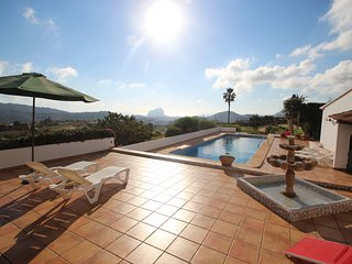 Finca Lu - sea view villa with private pool in Benissa